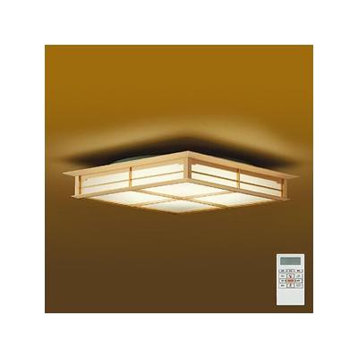 DAIKO LED和風シーリングライト ~14畳 調色・調光タイプ(昼光色~電球色) クイック取付式 リモコン・プルレススイッチ付  DCL-38557