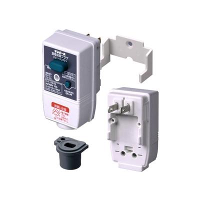 テンパール工業 漏電保護プラグ 地絡保護専用 簡易防雨タイプ ブッシングCタイプ GRPF1515ブッシングC
