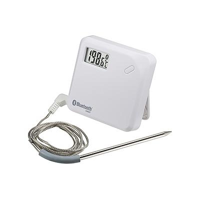 カスタム 無線ステンレスプローブ温度ロガー 測定範囲-40〜+300℃ Bluetooth4.0対応 CT-621BT