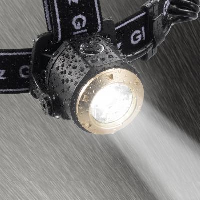 YAZAWA(ヤザワ) 【在庫限り】LEDズームヘッドライト 400lm  Y06GH05BK 画像2