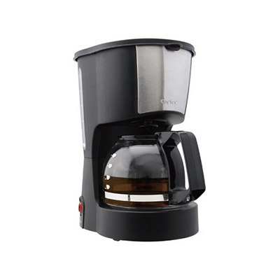 ドリテック コーヒーメーカー 《リラカフェ》 0.6L ドリップ式 メッシュフィルター・保温機能付 CM-100BK