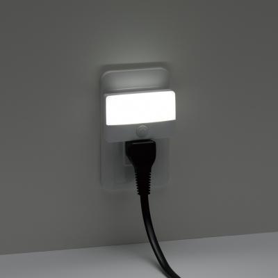 YAZAWA(ヤザワ) スイッチ式LEDスリムナイトライト  NASWN19WH 画像4