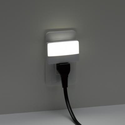 YAZAWA(ヤザワ) 明暗センサーLEDスリムナイトライト ホワイト 2個セット  NASN20WH2P 画像4