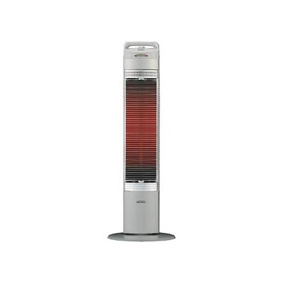 コロナ 遠赤外線電気ストーブ 《コアヒートスリム》 BCコーティングシーズヒーター搭載 10段階温度調節 CH-97R(S)