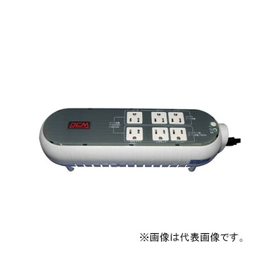 パワーコムジャパン 無停電電源装置 テーブルタップタイプ 常時商用給電方式 出力コンセント6個 出力容量300VA/165W WOW-300R-WG