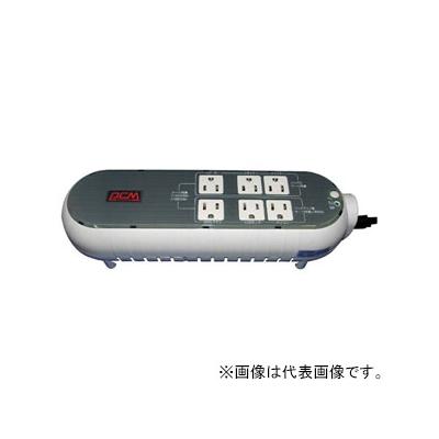 パワーコムジャパン 無停電電源装置 テーブルタップタイプ 常時商用給電方式 出力コンセント6個 出力容量300VA/165W 専用電源管理ソフトウェア付 WOW-300UR-WG
