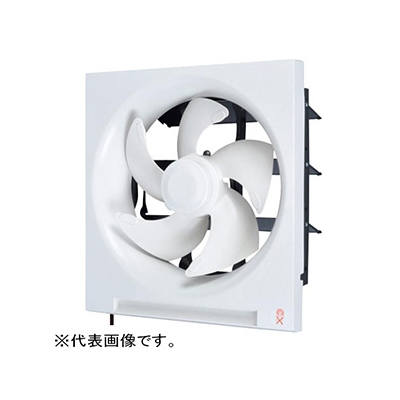 三菱 標準換気扇 スタンダードタイプ 居間・店舗用 連動式シャッター・給排式 引きひも付 プラグ付電源コード 羽根径30cm EX-30RH6