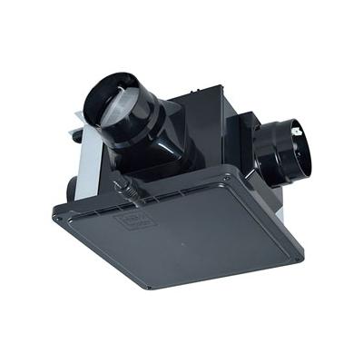 三菱 ダクト用換気扇 中間取付形ダクトファン 排気専用 定風量タイプ 24時間換気機能付 サニタリー用 2~3部屋換気用 DCブラシレスモーター搭載 接続パイプφ100mm 羽根径140mm V-15ZMVC3