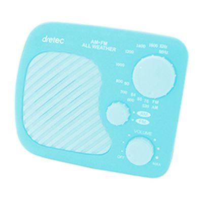 ドリテック AM/FM 防滴ラジオ PR-320BL
