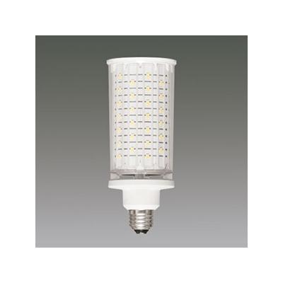 アイリスオーヤマ LED電球 《RCバルブ》 街路灯用HID代替 水銀灯100W相当 4000lmクラス 透明カバー 昼白色 E26口金 LDTS22N-G/C