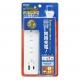 YAZAWA(ヤザワ) 海外でも日本でも使える急速充電タップ 4AC+1USB+1TypeC 3.4A 1m VFC34A4AC1C 画像4