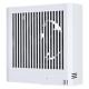 三菱 パイプ用ファン 湿度センサータイプ 角形格子グリル 居室・洗面所用 接続パイプ:φ100mm V-08PHLD7