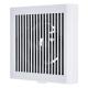 三菱 パイプ用ファン 角形格子グリル 居室・トイレ・洗面所用 接続パイプ:φ150mm V-12PLD7
