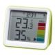 YAZAWA(ヤザワ) 時計付き置き型デジタル温湿度計 グリーン DO03GR 画像3