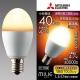 三菱 LED電球 《MILIE ミライエ》 全方向タイプ 小形電球形 40W形相当 全光束470lm 電球色 E17口金 LDA5L-G-E17/40/S