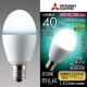 三菱 LED電球 《MILIE ミライエ》 全方向タイプ 小形電球形 40W形相当 全光束560lm 昼白色 E17口金 LDA5N-G-E17/40/S