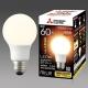 三菱 LED電球 《MILIE ミライエ》 全方向タイプ 一般電球形 60W形相当 全光束810lm 電球色 E26口金 LDA7L-G/60/S-A