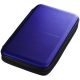サンワサプライ ブルーレイディスク対応セミハードケース ファスナータイプ 56枚収納 ブルー FCD-WLBD56BL 画像1