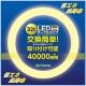 エコデバイス LED丸形蛍光灯 32W形 電球色 1800lm FCLタイプ対応 G10q口金 ECR299-016DK30