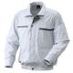 リョービ 充電式クーリングジャケット Lサイズ 長袖・半袖兼用タイプ シルバー BCJ-L2
