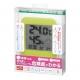 YAZAWA(ヤザワ) 熱中症・インフルエンザ警報付きデンジタル温湿度計 グリーン DO02GR