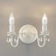 コイズミ照明 LEDブラケットライト 《シャビリア》 LEDランプ交換可能型 白熱球40W×2灯相当 電球色 4.0W×2灯 口金E17 AB42140L