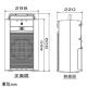 TOA ワイヤレスアンプ シングルタイプ PLLシンセサイザー方式 ワイヤレスチューナーユニット(WTU-1720)1台内蔵 WA-2700 画像2