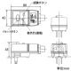 テンパール工業 漏電保護プラグ 地絡保護・転倒動作機能付 簡易防雨タイプ ブッシングBタイプ GRPD21506ブッシングB 画像2