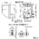 高須産業 涼風暖房機 浴室用 防水タイプ 適用面積1.5坪以下 AC100V 12A 電源コード(棒端子接続)タイプ ワイヤレスリモコン付 SDG-1200GBM 画像4