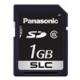 パナソニック 業務用SDメモリーカード EXシリーズ SLCタイプ 1GB 書換え回数約6000回 RP-SDE01GSW0