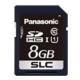 パナソニック 業務用SDメモリーカード FXシリーズ SLCタイプ 8GB 書換え回数約6000回 UHS-I対応 RP-SDFC08SW0
