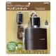YAZAWA(ヤザワ) ライティングダクトレール用ペンダントライト ダークウッド 電球なし ICLX60X07DW 画像1