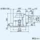 三菱 ダクト用換気扇 丸形グリル 天井埋込形 丸穴据付タイプ サニタリー用 低騒音形 接続パイプφ100mm 埋込寸法φ250mm VD-13ZCC5-M 画像2