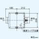 三菱 ダクト用換気扇 中間取付形ダクトファン 排気専用 定風量タイプ 24時間換気機能付 サニタリー用 1〜2部屋換気用 DCブラシレスモーター搭載 接続パイプφ100mm V-13ZMVC3 画像3