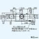 三菱 ダクト用換気扇 中間取付形ダクトファン 排気専用 定風量タイプ 24時間換気機能付 サニタリー用 2〜3部屋換気用 DCブラシレスモーター搭載 接続パイプφ100mm 羽根径180mm V-18ZMVC3 画像2