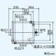 三菱 ダクト用換気扇 中間取付形ダクトファン 排気専用 定風量タイプ 24時間換気機能付 サニタリー用 2〜3部屋換気用 DCブラシレスモーター搭載 接続パイプφ100mm 羽根径180mm V-18ZMVC3 画像3