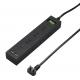 YAZAWA(ヤザワ) 集中スイッチ付9個口タップ+USB2ポート 2m ブラック H6BK11122UBK 画像2