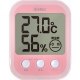 ドリテック デジタル温湿度計「オプシスプラス」 O-251PK 画像1