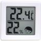 ドリテック 小さいデジタル温湿度計 O-257WT