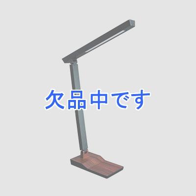 YAZAWA(ヤザワ) 5W木目調スタンド 調光機能付 ダークウッド SDLE05N14DW