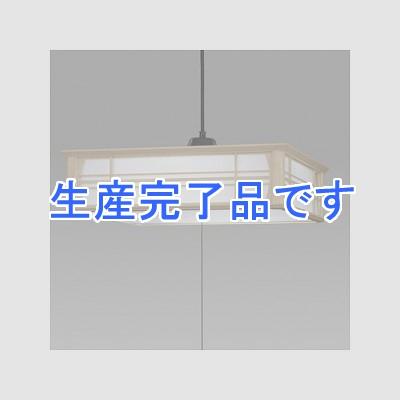 日立 和風LEDペンダントライト 〜12畳 プルスイッチ(全灯→60%点灯→保安灯→消灯) LEP-CA1200BJ