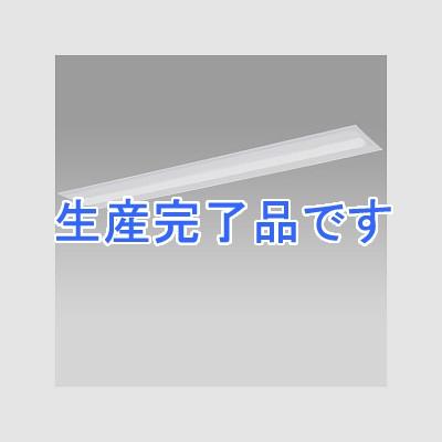 パナソニック 一体型LEDベースライト《iDシリーズ》 40形 埋込型 下面開放型 W220 Cチャンネル回避型 一般タイプ 調光タイプ FLR40形器具×1灯節電タイプ 昼白色 XLX410TENCLA9
