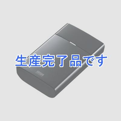 スマートフォン・タブレット用モバイルバッテリー USB出力ポート2ポート搭載 8700mAh ブラック BTL-RDC8BK