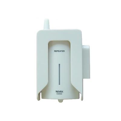 リーベックス Xシリーズ専用中継機 電池式 屋内・屋外兼用 防雨カバー・ACアダプター付 X2000
