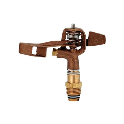カクダイ 低角度スプリンクラー 全回転タイプ 取付ネジR1/2 ノズル口径2.8mm 548-005-13