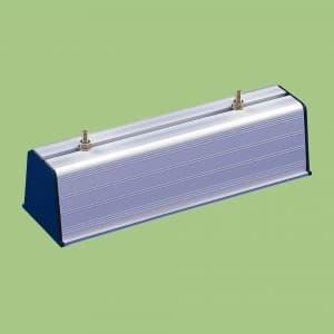 関東器材 アルミ製 化粧ブロック 500mm AB-105009