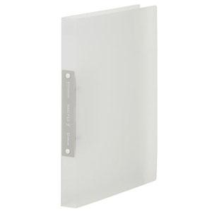 キングジム シンプリーズリングファイル 透明タイプ A4タテ型 内径19mm 2穴 紙寄せ2枚付 透明 641TSPトウメイ