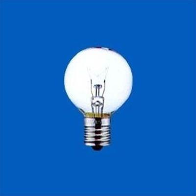 アサヒ ボール電球 クリア 10W E17口金 直径40mm G40E17110V10WC