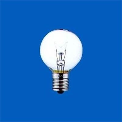 アサヒ ボール電球 クリア 25W E17口金 直径40mm G40E17110V25WC