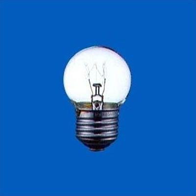 アサヒ ボール電球 クリア 25W E26口金 直径40mm G40E26110V25WC